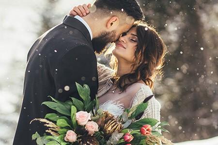 Esküvő helyszín | Mesébe illő esküvő télen