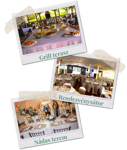 Esküvő helyszín | Vendéglátás elegáns, vintage stílusban