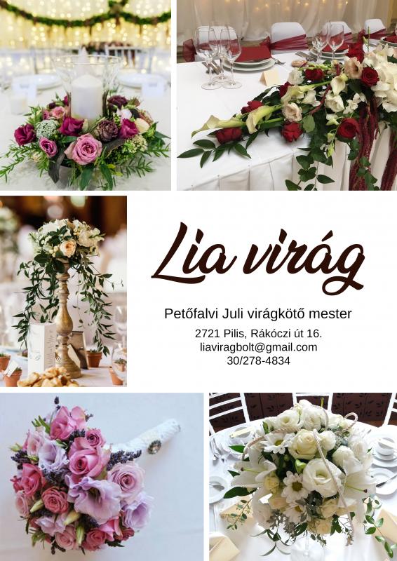 Esküvő helyszín | Petőfalvi Juli virágkötő mester - LIA Virág